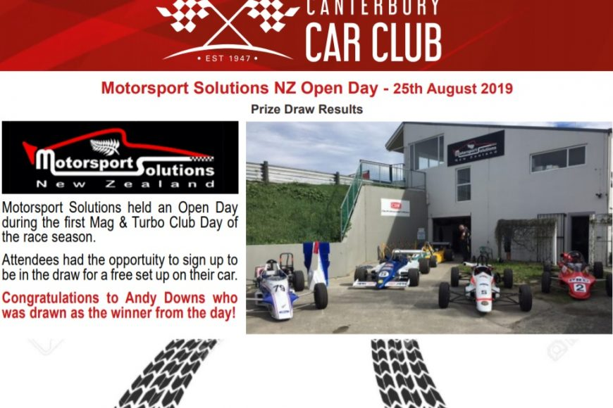 Open Day – Winner!
