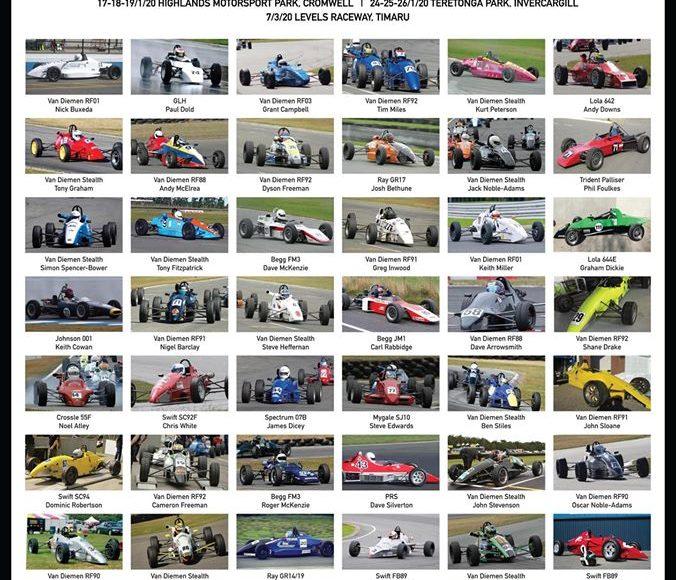 SIF1600 Championship Series 2019/20