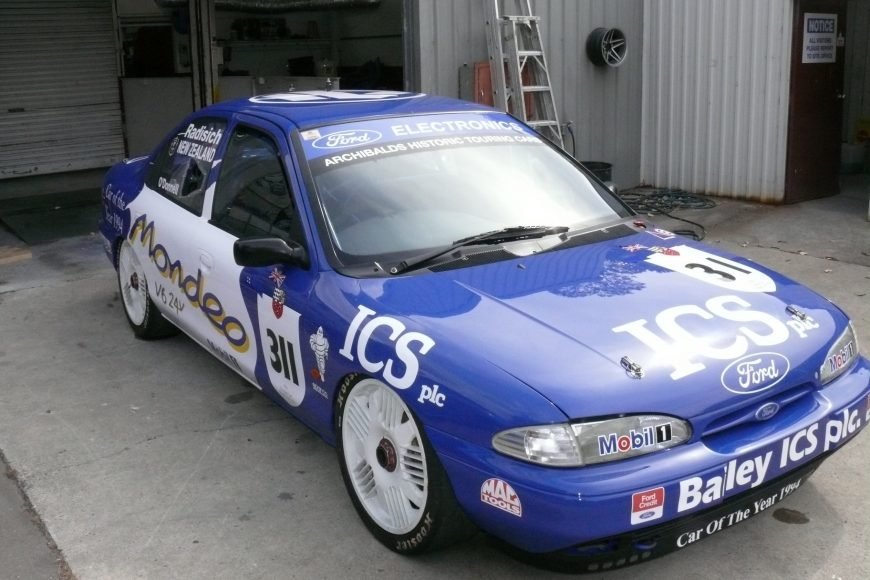 Mondeo at the Skope Classic 2020