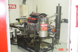 Engine Shop in Full Swing!